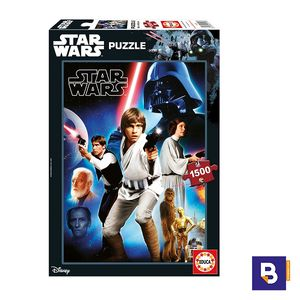PUZZLE EDUCA 1500 PIEZAS EPISODIO IV STAR WARS 17126