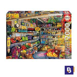 PUZZLE EDUCA 2000 PIEZAS TIENDA DE COMESTIBLES 17128