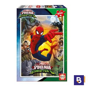 PUZZLE EDUCA 500 PIEZAS SPIDERMAN VS SINISTER 6 17155