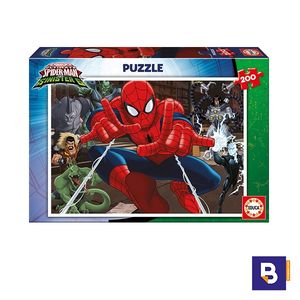 PUZZLE EDUCA 200 PIEZAS SPIDERMAN 17178
