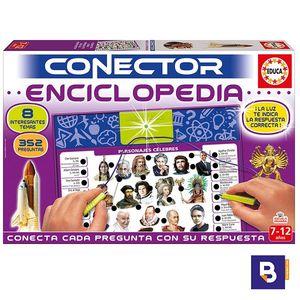 JUEGO EDUCATIVO EDUCA BORRAS CONECTOR ENCICLOPEDIA 17205