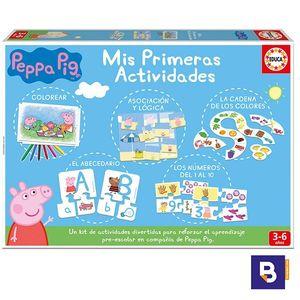 JUEGO EDUCATIVO MIS PRIMERAS ACTIVIDADES PEPPA PIG EDUCA 17249