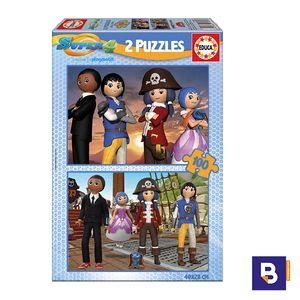 PUZZLE EDUCA 2 X 100 PIEZAS SUPER 4 17280