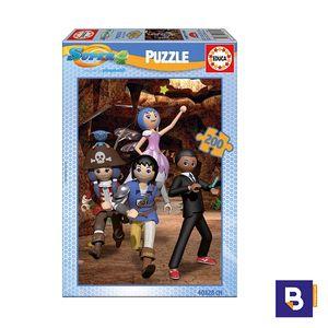 PUZZLE EDUCA 200 PIEZAS SUPER 4 17281