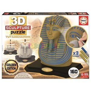 PUZZLE EDUCA 3D SCULPTURE TUTANKHAMON 17335