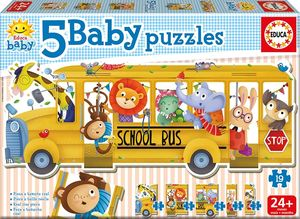 BABY PUZZLE EDUCA BUS ANIMALITOS 17575