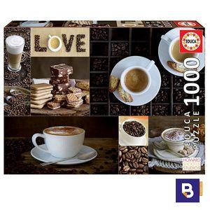 PUZZLE EDUCA BORRAS 1000 PIEZAS CAFE 17663
