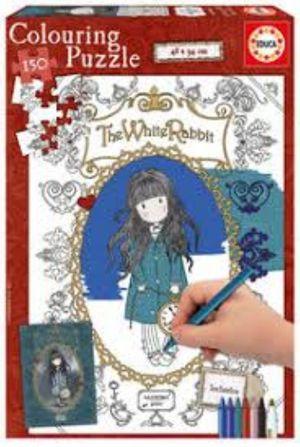 PUZZLE EDUCA 150 PIEZAS THE WHITE RABBIT COLORIN 17820
