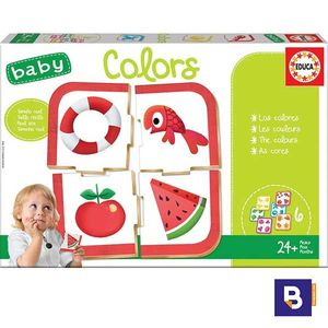 PUZZLE EDUCA BORRAS BABY PUZZLES COLORS 18119 COLORES