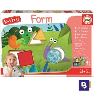 PUZZLE EDUCA BORRAS BABY FORMS 18121 CON 4 TABLEROS
