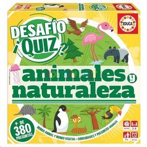 DESAFIO QUIZ ANIMALES Y NATURALEZA EDUCA 18219