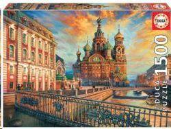 PUZZLE 1500 PIEZAS EDUCA SAN PETERSBURGO 18501
