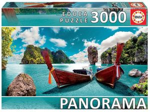PUZZLE EDUCA BORRAS 3000 PIEZAS PHUKET TAILANDIA PANORAMICO REF 18581