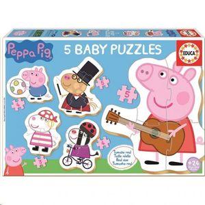 BABY PUZZLE EDUCA PEPPA PIG 18589