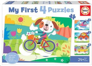 PUZZLE EDUCA VEHICULOS MY FIRST 4 PUZZLES 18898