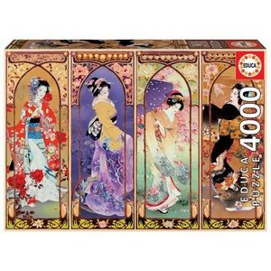 PUZZLE EDUCA BORRAS 4000 PIEZAS JAPANES COLLAGE 19055