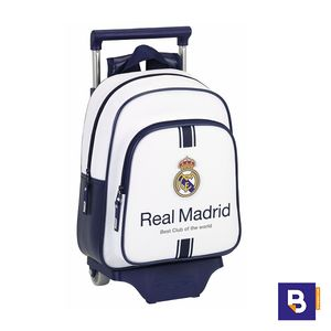 MOCHILA INFANTIL CON CARRO REAL MADRID SAFTA 611654020
