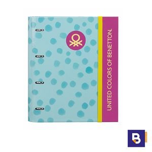 CARPEBLOC A4 BENETTON DOTS PAINTED SAFTA 511750666