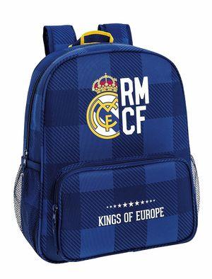 MOCHILA REAL MADRID BLUE SAFTA 611724640
