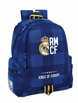 MOCHILA REAL MADRID BLUE SAFTA 611724662