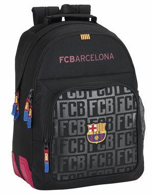 MOCHILA CON CANTONERAS FC BARCELONA BLACK SAFTA 611725773