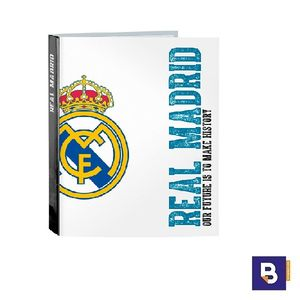 CARPETA RECAMBIO FOLIO 04ANILLAS REAL MADRID 511754657