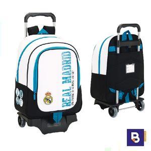 MOCHILA CON CARRO SAFTA REAL MADRID 611754313