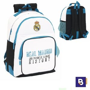 MOCHILA DOBLE SAFTA REAL MADRID 611754773