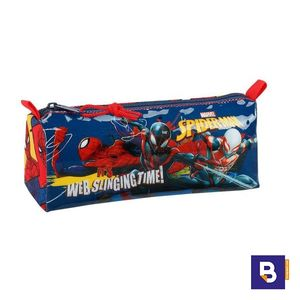 PORTATODO ESTUCHE SAFTA SPIDERMAN MARVEL SLINGING TIME 811843742