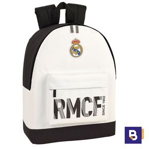 MOCHILA BACKPACK SAFTA ESPECIAL PORTATIL REAL MADRID PRIMERA EQUIPACION 611854174