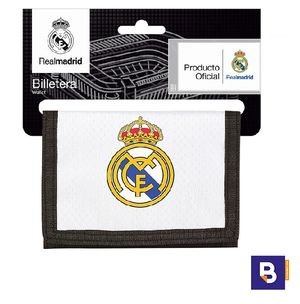 CARTERA BILLETERA SAFTA REAL MADRID PRIMERA EQUIPACION 811854036