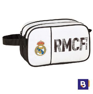 NECESER DOBLE SAFTA ADAPTABLE A CARRO REAL MADRID PRIMERA EQUIPACION 811854518