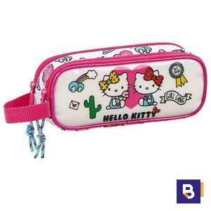 PORTATODO DOBLE SAFTA HELLO KITTY GIRL GANG 811816513