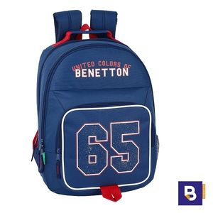 MOCHILA DOBLE 42CM SAFTA ADAPTABLE A CARRO BENETTON BOY 65 UCB 611906560