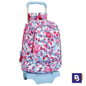 MOCHILA 46CM BACKPACK SAFTA CON CARRO 905 DESMONTABLE VICKY MARTIN BERROCAL VMB BE 611936160 CON RUEDAS