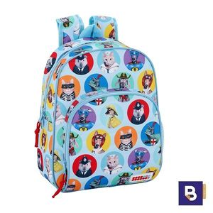 MOCHILA 34CM SAFTA ADAPTABLE A CARRO PETS FACTOR 611908609