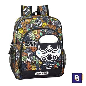 MOCHILA 38CM. SAFTA ADAPTABLE A CARRO STAR WARS GALAXY 611901640