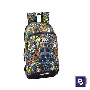 MINI MOCHILA SAFTA STAR WARS GALAXY 611901821