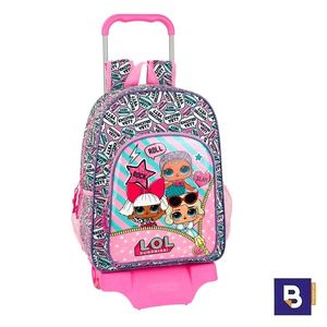 MOCHILA 42CM CON CARRO 905 SAFTA LOL SURPRISE 611920160