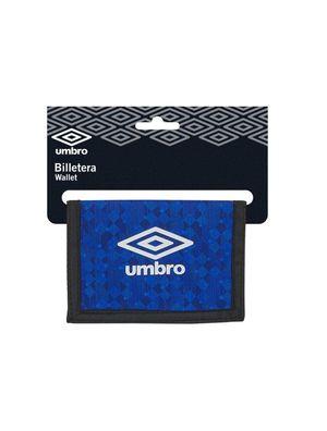 BILLETERA SAFTA UMBRO BLACK & BLUE REF 812037036