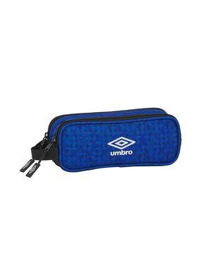 PORTATODO DOBLE SAFTA UMBRO BLACK & BLUE REF 812037513