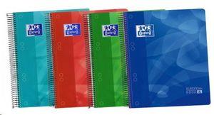 BLOC MICROPERFORADO DIN A-5 140H T PLASTICO EUROPEAN BOOK 4 OXFORD