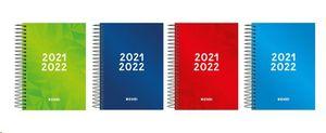 AGENDA ESCOLAR ENRI 2021/22 IDENTIT 1/8 ESPIRAL DIA/PAGINA