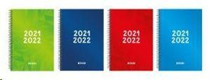 AGENDA ESCOLAR ENRI 2021/22 IDENTIT 1/4 ESPIRAL DIA/PAGINA