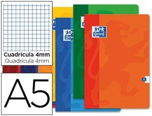 LIBRETA OXFORD A5+ 48H 90G CUADRICULA 4X4