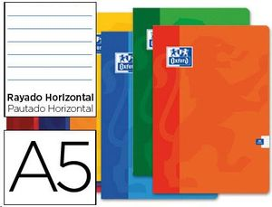LIBRETA A5 OXFORD HORIZONTAL 48H