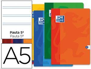 LIBRETA OXFORD A5+ 48H 90G PAUTA 2,5