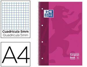 BLOC MICROPERFORADO OXFORD A4 80 HOJAS 90 GRS CUADRICULA 5 FUCSIA