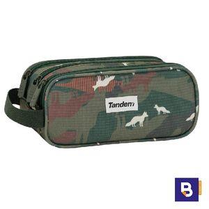 PORTATODO ESTUCHE TRIPLE SPORTANDEM TANDEM FOX 239080