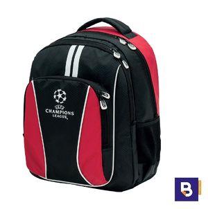 MOCHILA DOBLE SPORTANDEM ADAPTABLE A CARRO UEFA CHAMPIONS LEAGUE TROPHY RED ROJO 405232